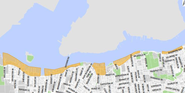 Issue 10 Lack of Referrals to Staten Island by NYCEDC NYCEDC promoted sites such as the Brooklyn Navy Yard and Brooklyn Army Terminal are booming, but when businesses outgrow these sites, they are