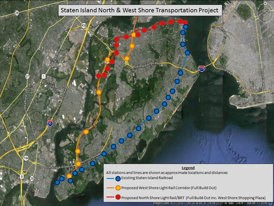 Issue 6 - Sponsor or Fund the West Shore Rapid Transit Project For the past decade, SIEDC has been working to develop a rapid transit project to serve the West Shore of the borough.