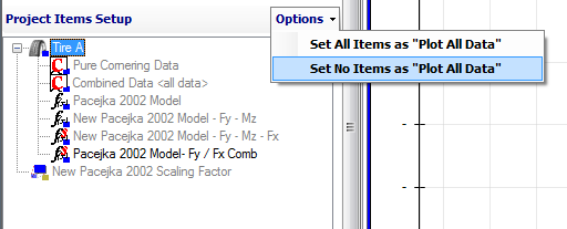 the bottom of the graph setup form as shown in Figure 4.10. Since this is located in the graph setup form it will only affect the graph that it corresponds to.