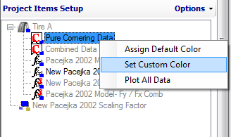 Figure 4.14: Plot All Data Option If you choose, you can also alter the color of the graph based on two of the graph inputs.