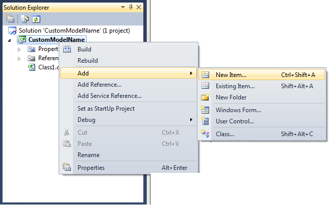 Alternatively you can open the example project provided with OptimumT, modify it and save it under a different name.