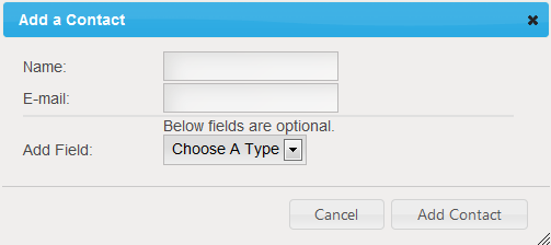 A pop-up box will appear and you ll be able to enter the individual s name, email address and however many custom fields you d like (for example, age, occupation, sex, etc).