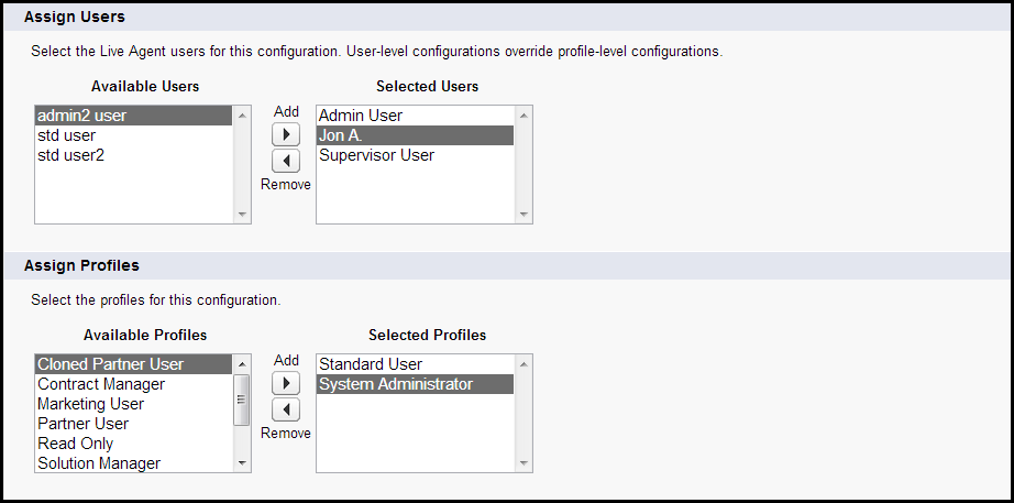 Tutorial #5: Chat Live with Customers on the Web Step 4: Set Up Live Agent Configurations 8.