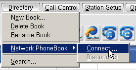b. Other Ways to Rename a Phone Book You can also click the right mouse button in the Selection View, and then click on Rename Book option to rename a phone book. How Do You Add a Network Phone Book?