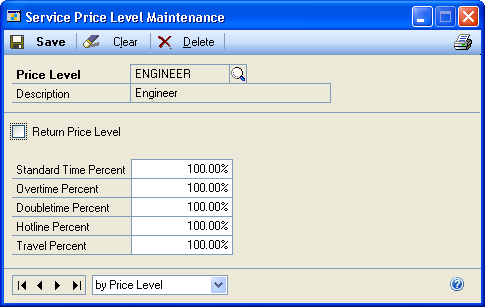 CHAPTER 2 SETUP IN SERVICE CALL MANAGEMENT 3. Select the item number that the ECO is generated for.