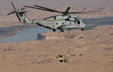 Program Description The CH-53E is a heavy lift helicopter designed to transport heavy equipment and supplies during the ship-to-shore movement of an amphibious assault and during subsequent