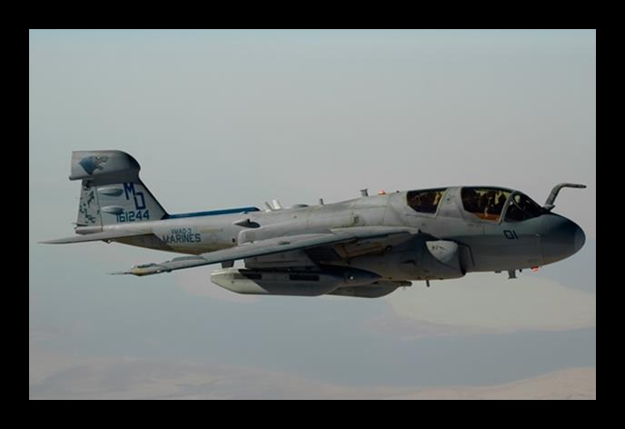 EA-6B PLAN : PROGRAMMATICS, SUSTAINMENT AND FUTURE EA-6B: The USMC currently has three operational and one FRS EA-6B squadrons that operate the Improved Capabilities (ICAP) III version of the EA-6B