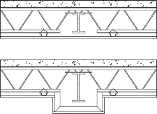GA-600-2009 RESISTANCE DESIGN MANUAL 15 BEAM, GIRDER, AND TRUSS PROTECTION SYSTEMS Beams are tested with superimposed loads applied to simulate the maximum theoretical dead and live loads permitted