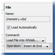 Step 2: Specify the file prperties.