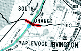 The town felt that South Orange Avenue was cutting the village in half, and resolved to do something about it. In the mid-1990s, the commuter rail station and environs were redeveloped.