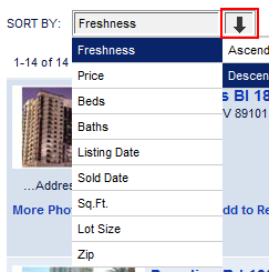 Property Matches Running a Search returns Property Matches. You can view these matches as a list or on a map.