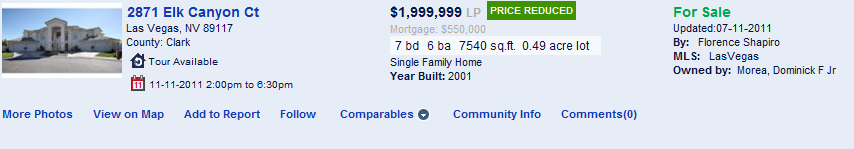 Changing the number of properties displayed The total number of pages of matching properties shows at the top of the page. You can navigate to other pages by clicking a page number or Next.