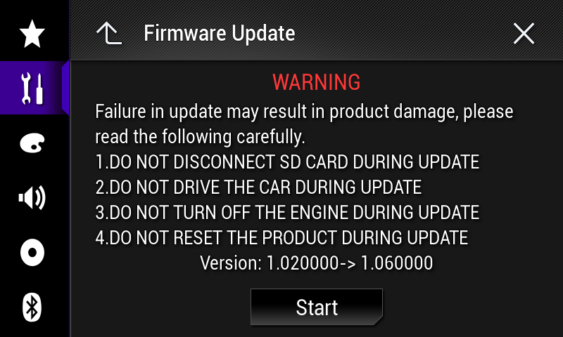Wait for the file check to finish. 12. Touch [Start]. Note: Images are for illustration purposes only.