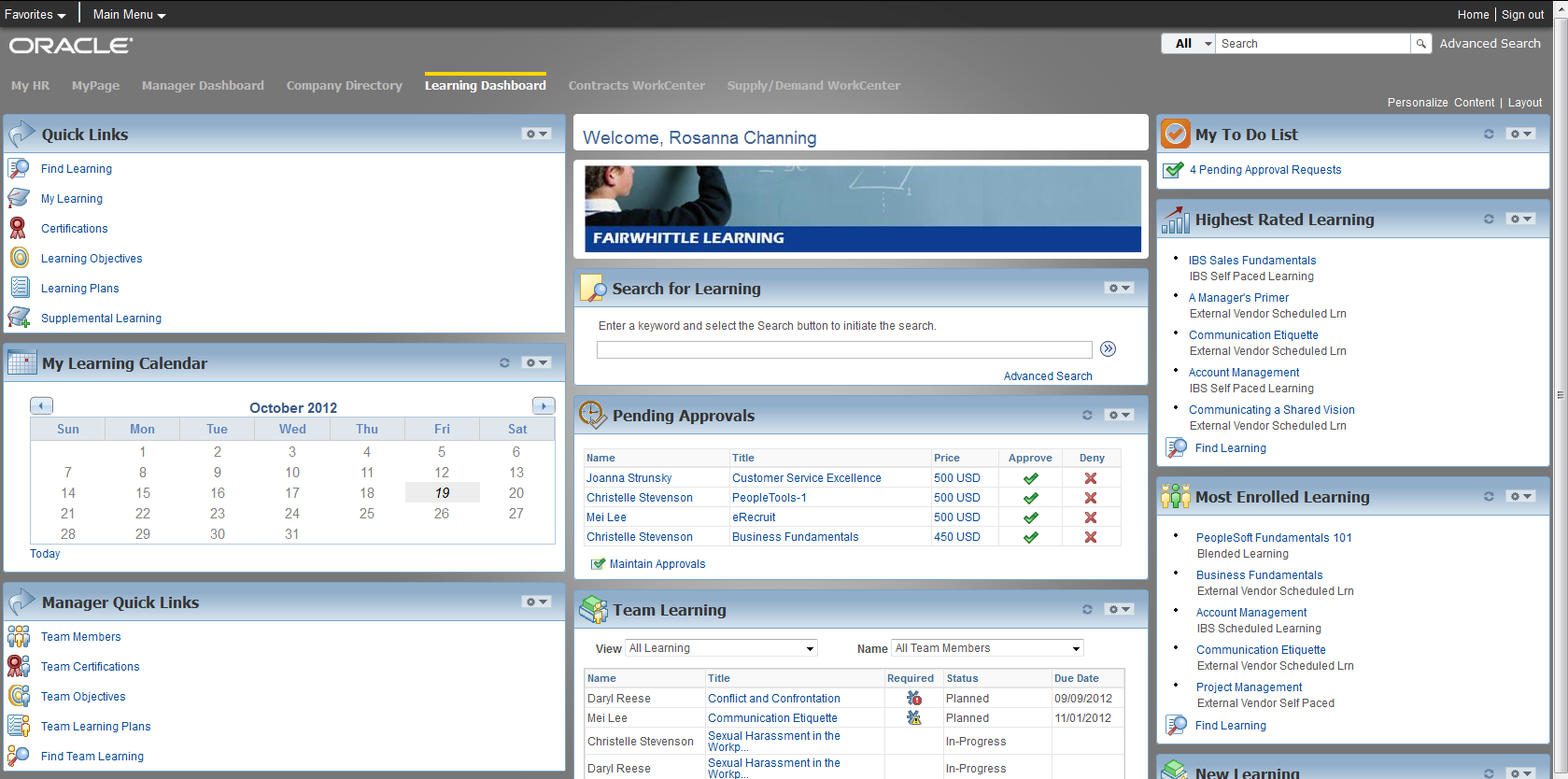 Consolidation of Key Information Learning Dashboard 49