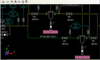 Autodiscovery Graphic Schema INFOR EAM DWG AUTODISCOVERY TAG NUMBER EAM-OpenCAD CK01A - Part of EAM code object