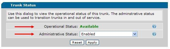 1. The Operational Status: may be Unavailable after you apply ALL of the