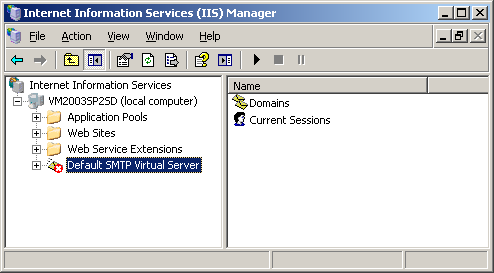 Chapter 6 SMTP Integration Configuring IIS for SMTP TLS in Output To enable the support of TLS on SMTP messages used for notifications (SMTP Gateway output) on the computer hosting XMediusFAX: 1.
