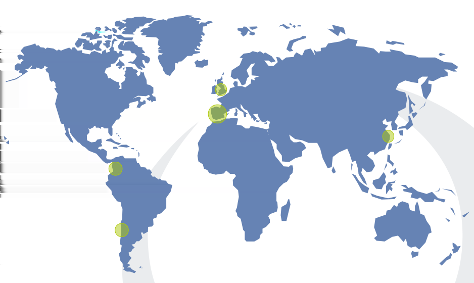 Opensistemas is present in nine locations over five countries: Spain (Madrid, Valencia, Barcelona,