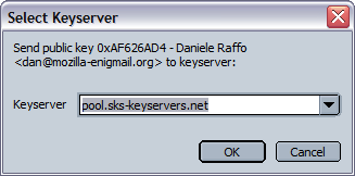 7.4.2. Publish your public key on a keyserver By far, the easiest way to let the world know your public key is to publish it on the public keyserver network, a global database of keys.
