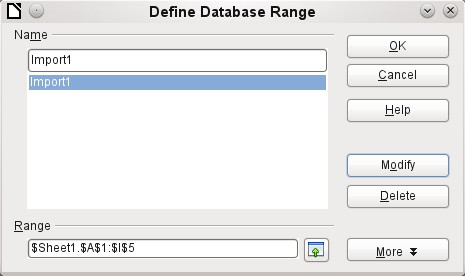 The imported data is not formatted except as the properties of the database fields require. You can also use the context menu of a table to make a copy of the data.