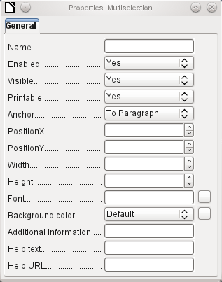 Independent of this form control, the insertable navigation bar naturally continues to exist with the same items as the above figure.