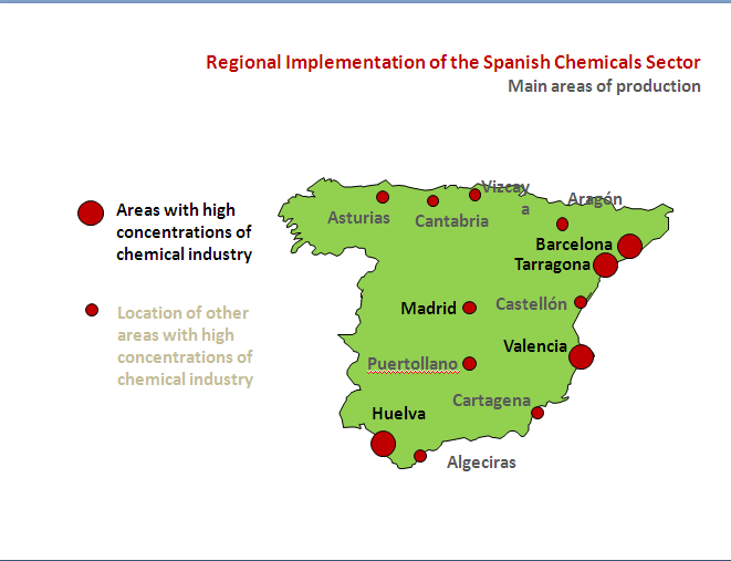 Business opportunities: Chemical industry Investment Locations: Productive sites and Clusters providing industrial infrastructures.
