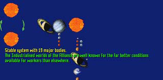 136 CHAPTER 5. ABOUT THE GALAXY Life is believed to have emerged on Hope some time after the star became a red giant.