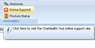 OneHealth Tool - launched May 2012 OneHealth Tool available in