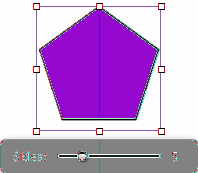 ÂÂ To make the shape s body taller, shorter, wider, or narrower, drag the selection handles on the shape s bounding box.