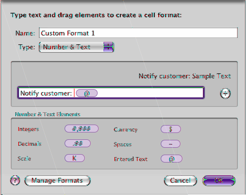 5 Place an insertion point before or after the element, and then type your text, including spaces if required.