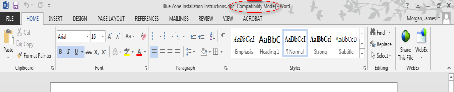 What is Compatibility Mode?