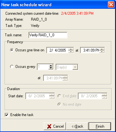 RocketRAID 3220 Driver and Software Installation Select the task type