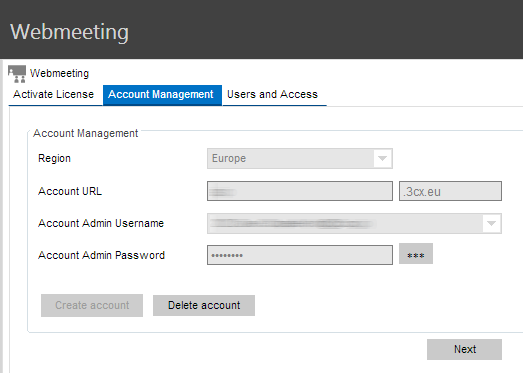 Step 1 - Enable the 3CX WebMeeting feature 3CX WebMeeting requires 3CX Phone System Version 12, SP5 or later. By default you can host meetings with up to 3 participants.