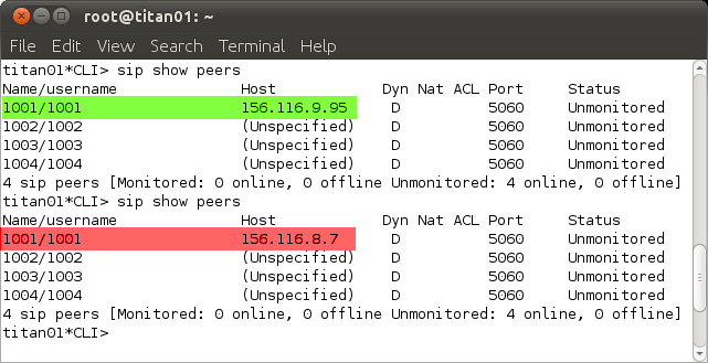 Execution of the attack Attack: We use NetSED to modify the network stream live.