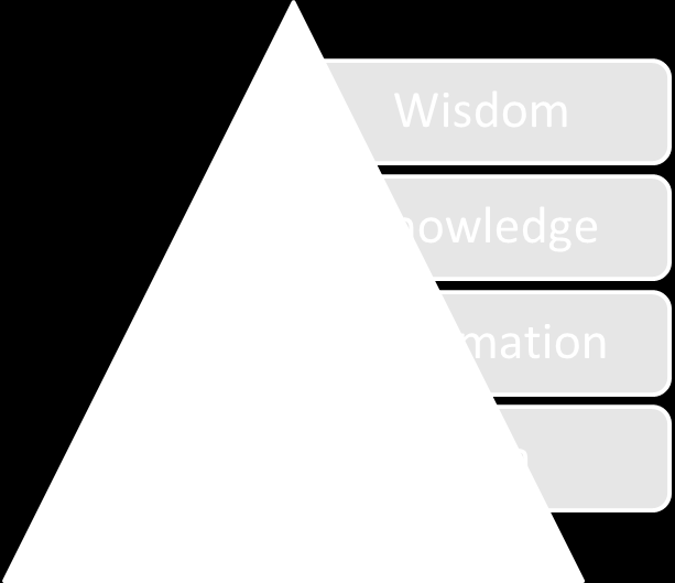 Information System Management: The Reengineering of an ICT Department of the pyramid wisdom is related with long term strategy and means an ability to see consequences of any act and pursuits the