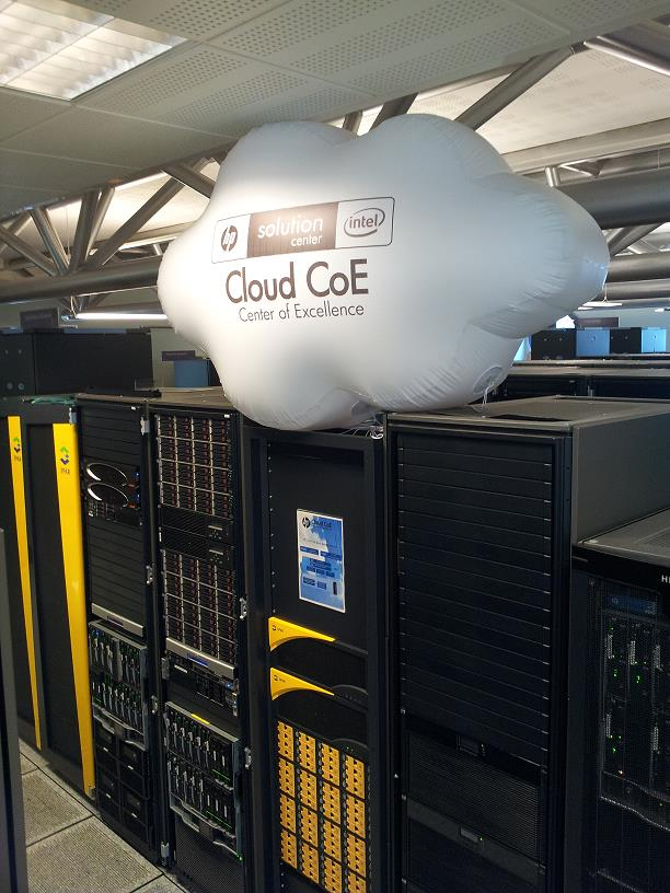 Cloud Center of Excelence, Grenoble 1. CSA 3 Technical Overview 2. Grenoble COE Datacenter Visit 3.