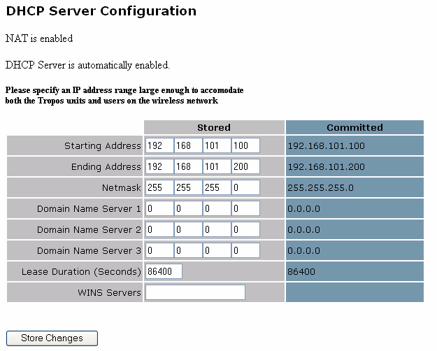 Chapter 4 Configuring Network Settings Figure 15 DHCP