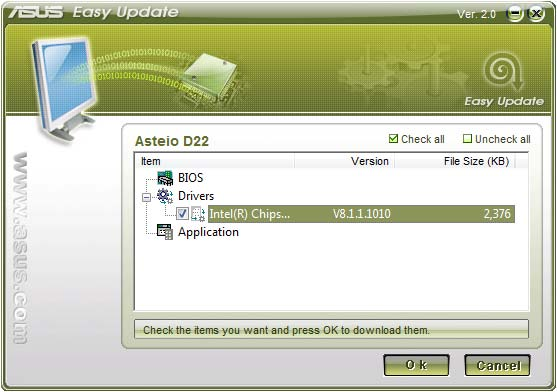 Select Schedule to set how often you want to update your system. 3. Select Update to activate the update. 4.