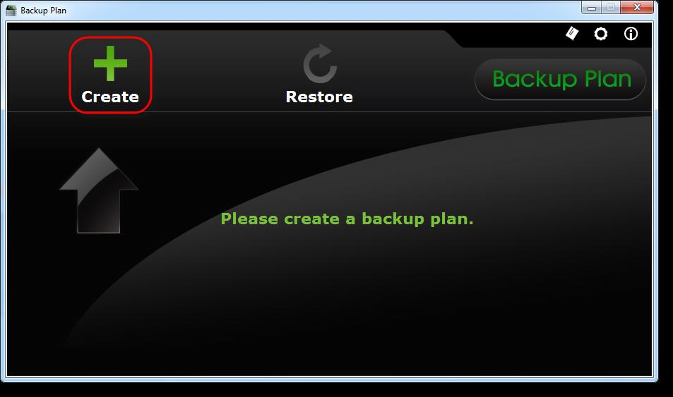 2. Using Backup Plan 2.1 Installing Backup Plan After downloading Backup Plan, unzip the downloaded file and then double-click on the installation file.
