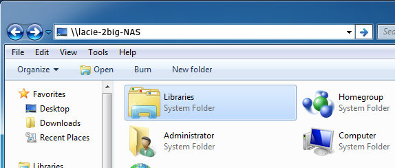 Windows Users: Select LaCie Network Assistant in Start/Programs.