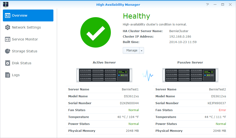 Synology NAS User's Guide Scan System Settings Security Advisor allows you to check and scan your DSM settings for any suspicious activities that may present security risks.