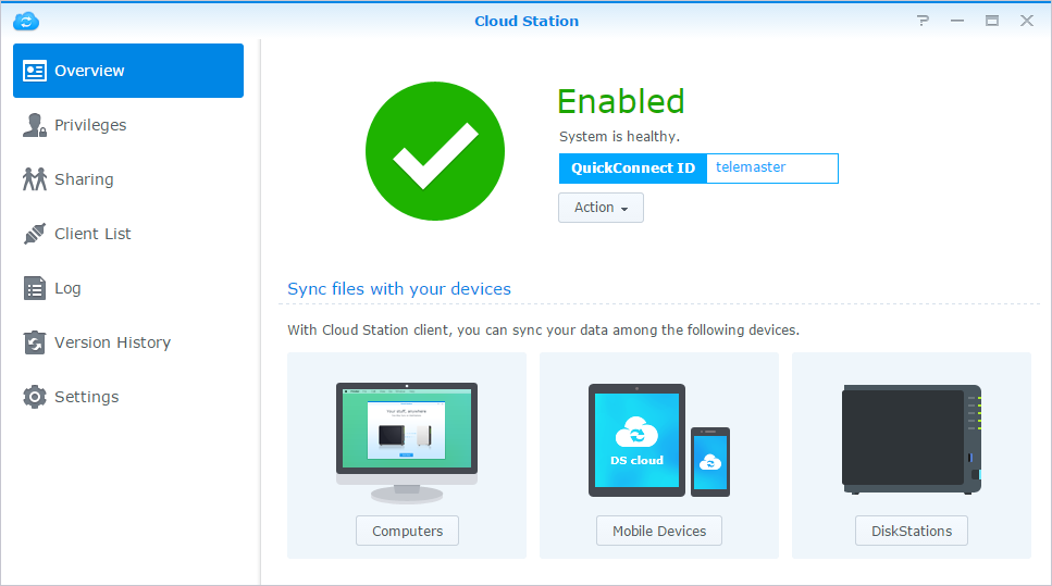 Synology NAS User's Guide Access Files via WebDAV By enabling WebDAV or CalDAV (at Control Panel > File Services > WebDAV), you can remotely manage and edit files or calendars stored on the Synology
