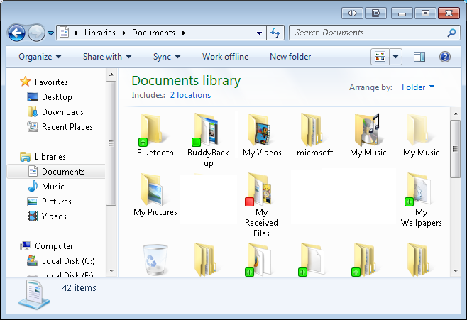 9 Using Windows Explorer BuddyBackup integrates with Windows Explorer to make it easier for you to manage your backups. Windows Explorer is what you use any time you're browsing for files in Windows.