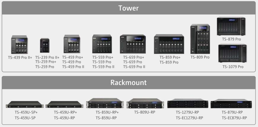 Wide-selection of Storage Servers for Virtualization Application QNAP: QNAP virtualization