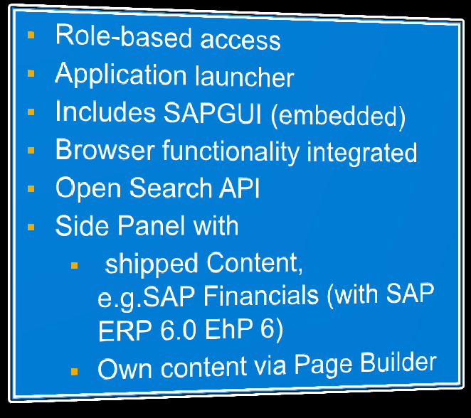 HCM as Front Runner for the SAP Business Suite The new SAP HCM leverages SAP UI Development Toolkit for HTML5 UI Integration Service Netweaver