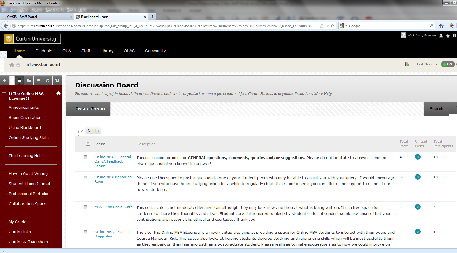 For example, orientation resources to support academic writing and online learning are also built in to the site.