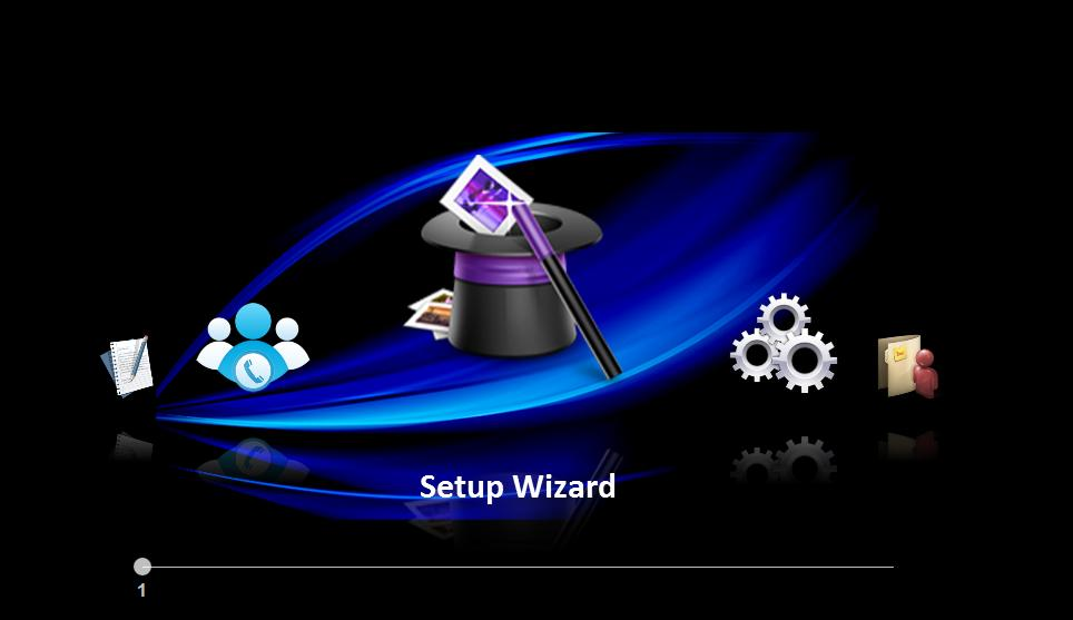 Chapter 2: Setup Wizard Administrator can set the basic function step by step when access the NAS at the