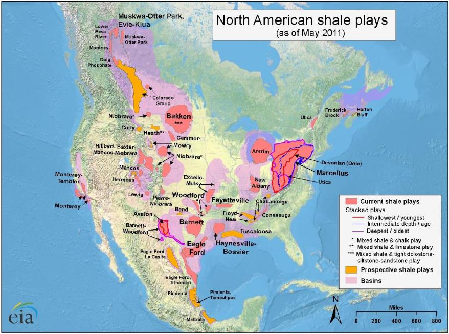 Shale Gas Plays Shale.