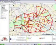 Traffic management by information: based on infrastructure Ex.