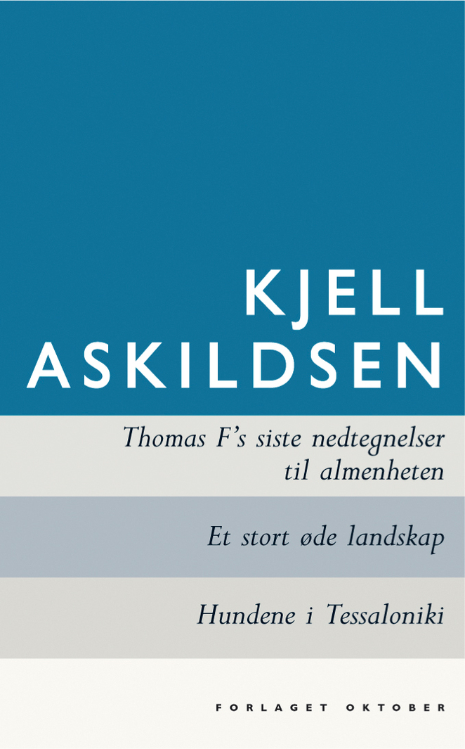 In A Great Deserted Landscape Askildsen truly shows his insight into the human mind and his lingustic sensitivity.